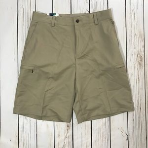 Men's Khaki Izod Golf Shorts